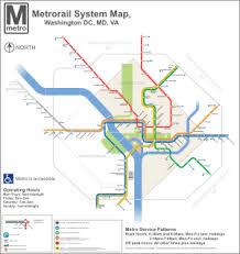 washington dc metrobus map list of washington metro stations