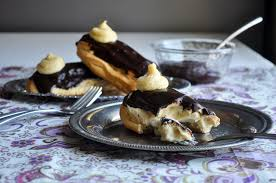 chocolate eclair dessert recipe batter and dough