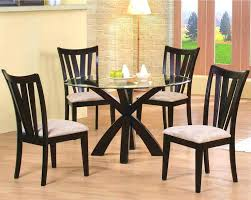 Cheap Dining Room Furniture Round Glass Top Dining Table Set Dining Table Set With Glass Top