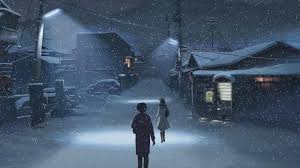 winter anime wallpaper hd anime winter full hd wallpaper and background image 1920x1080 id