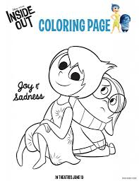disney pixar movie inside out free activity sheets u0026 coloring