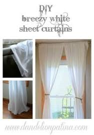 Make Curtains Out Of Sheets 5 Curtains Made From Walmart Sheets Curtains Out Of Cotton