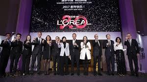 l oreal siege social l oréal célèbre ses 20 ans de présence en chine l oréal groupe