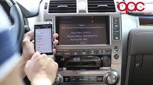 lexus gx470 xm radio lexus gx 460 2014 cómo conectar un teléfono inteligente youtube