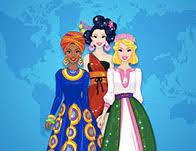 around the world fashion show games