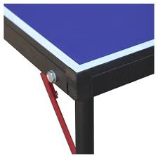 rec tek ping pong table hathaway crossover portable table tennis table 60 with paddle