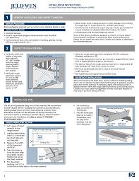 Remove Patio Door by Jeld Wen Jii006 Vinyl Patio Doors With Integral Nailing Fin User