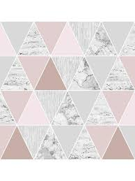 pink and grey pattern wallpaper rose gold reflections wallpaper danni s domain pinterest bed