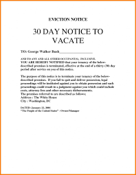 cover letter widescreen day notice to vacate letter best business