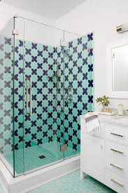 Coastal Shower Curtain by Steal These Tile Ideas From The Coastal Living Designer Showhouse