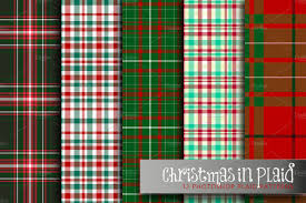 plaid christmas christmas in plaid patterns creative market