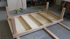how to build a work table diy rolling workbench with free workbench plans
