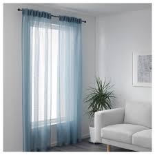 gjertrud sheer curtains 1 pair white ikea