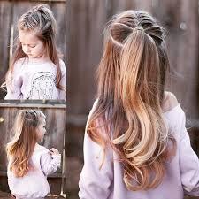 Festliche Frisuren Lange Haare Kinder by Kinder Frisuren Entzückende Sommer Frisuren Für Kinder