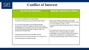 Hired Immediately Conflict Of Interest Responsible Conduct Of Research Training For