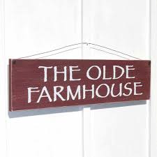 Wood Signs Home Decor The Olde Farmhouse Sign Wooden Rustic Farmhouse Style Home Decor