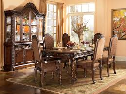 ashley dining table and chairs ashley furniture north shore dining room set includes dining table
