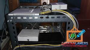 membuat rt rw net menggunakan 3 buah router mikrotik untuk rt rw net minimalis