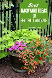 Landscape Ideas For Backyard Best Backyard Ideas For Landscaping Oh My Creative
