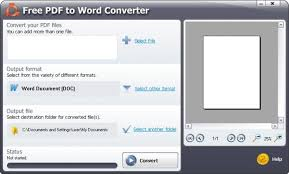 Convert Pdf To Word Smartsoft Free Pdf To Word Converter
