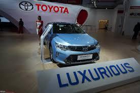 toyota auto dealership toyota auto expo 2016 team bhp