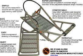 treewalker treestands are lightweight aluminum portable