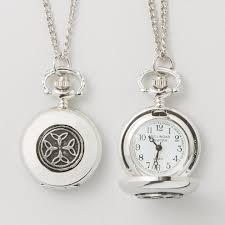 necklace watch images Mullingar pewter trinity knot womens irish pendant watch jpg
