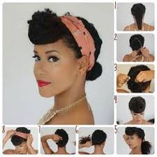 braided pinup hairstyles 1950 african american hairstyles the main thing is to use a soft