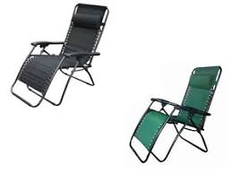 X Chair Zero Gravity Recliner 2 X Textoline Zero Gravity Reclining Garden Sun Lounger Deluxe