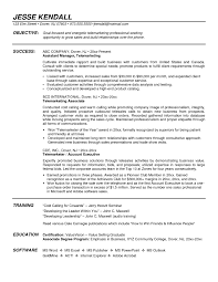 Sample Outside Sales Resume by Outside Salesperson Resume