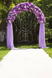 wedding arches in edmonton purple wedding arch holy cow i want this this is magical