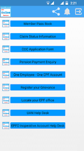 Google Forms Help Desk Online Epf Services Epf Pass Book Android Apps On Google Play