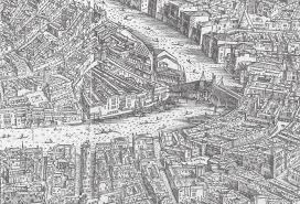 Bird View Map Why Views Of Venice U0027s Rialto Bridge Look So Familiar The Getty Iris