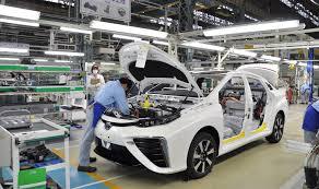 t0y0ta cars toyota mirai production youtube