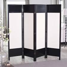 Room Divider Sliding Door Ikea - griffin 4 black panel room separator with white canvas projects