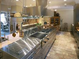 commercial kitchen ideas industrial kitchen island in commercial kitchen design with