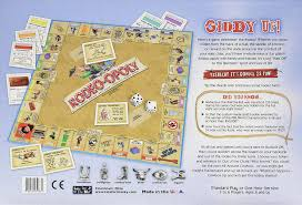amazon com rodeo opoly monopoly board game by late for the sky