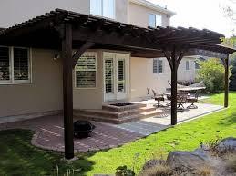 Attaching Pergola To House by Pergola Attached To House Roof Pergola Gazebo Ideas