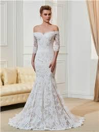 robe de mari e dentelle manche longue robe de mariée pas cher en ligne fr tidebuy