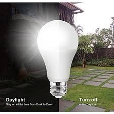 led light bulb with dusk to dawn sensor to dawn lights bulb 7w smart sensor led bulbs outdoor indoor led