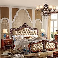 Ms Bedroom Furniture French Style Bedroom Furniture Wood Double Size Bed 0409 Ms Series