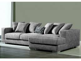 canape en tissus haut de gamme canapé d angle déhoussable tissu haut de gamme spencer gris