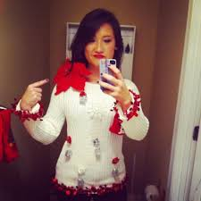 make ugly christmas sweaters homemade cashmere sweater england