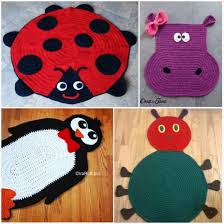 crochet rug patterns free crochet animal rugs beautiful patterns the whoot
