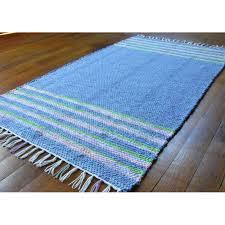 Lilac Runner Rug Miranda S Loom Handwoven Rag Rug Runner Blue Pink Lime Green