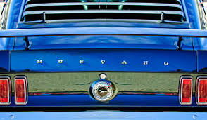 1969 mustang rear 1969 mustang america