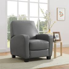 home theater recliner dorel living mainstays home theater recliner gray