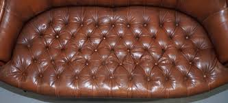 Small Leather Chesterfield Sofa by Vinterior Vintage Midcentury Antique U0026 Design Furniture
