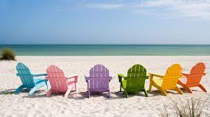 Beach Color by Colored Sunbeds On The Beach Hd Happy Holiday