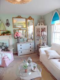 mediterranean shabby chic family room shabby chic style with white